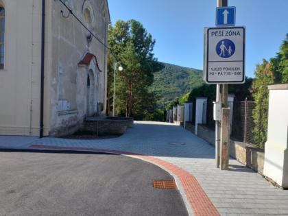 Pohled ze školy